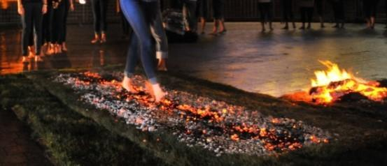 Wanted Daredevils For Firewalking Challenge