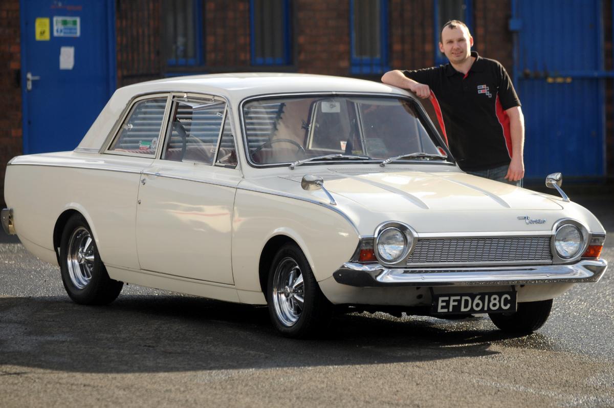 Classic Cars From Bury Restoration Company Star In BAFTA Award - Classic car company