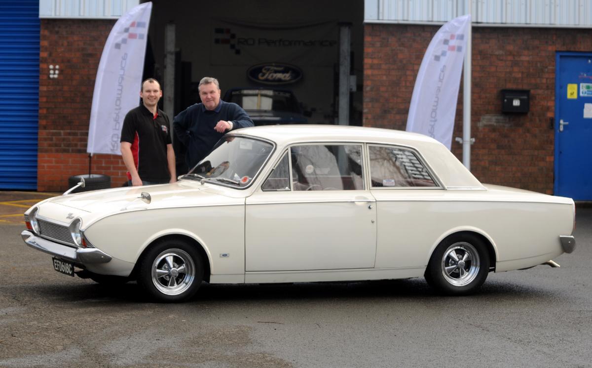 Classic cars from Bury restoration company star in BAFTA award ...