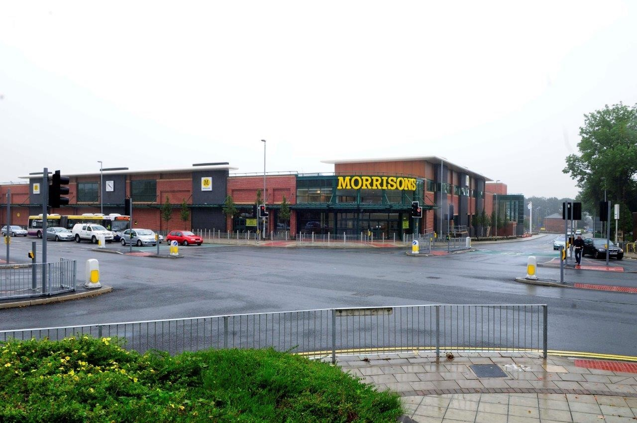 Morrisons in Whitefield..