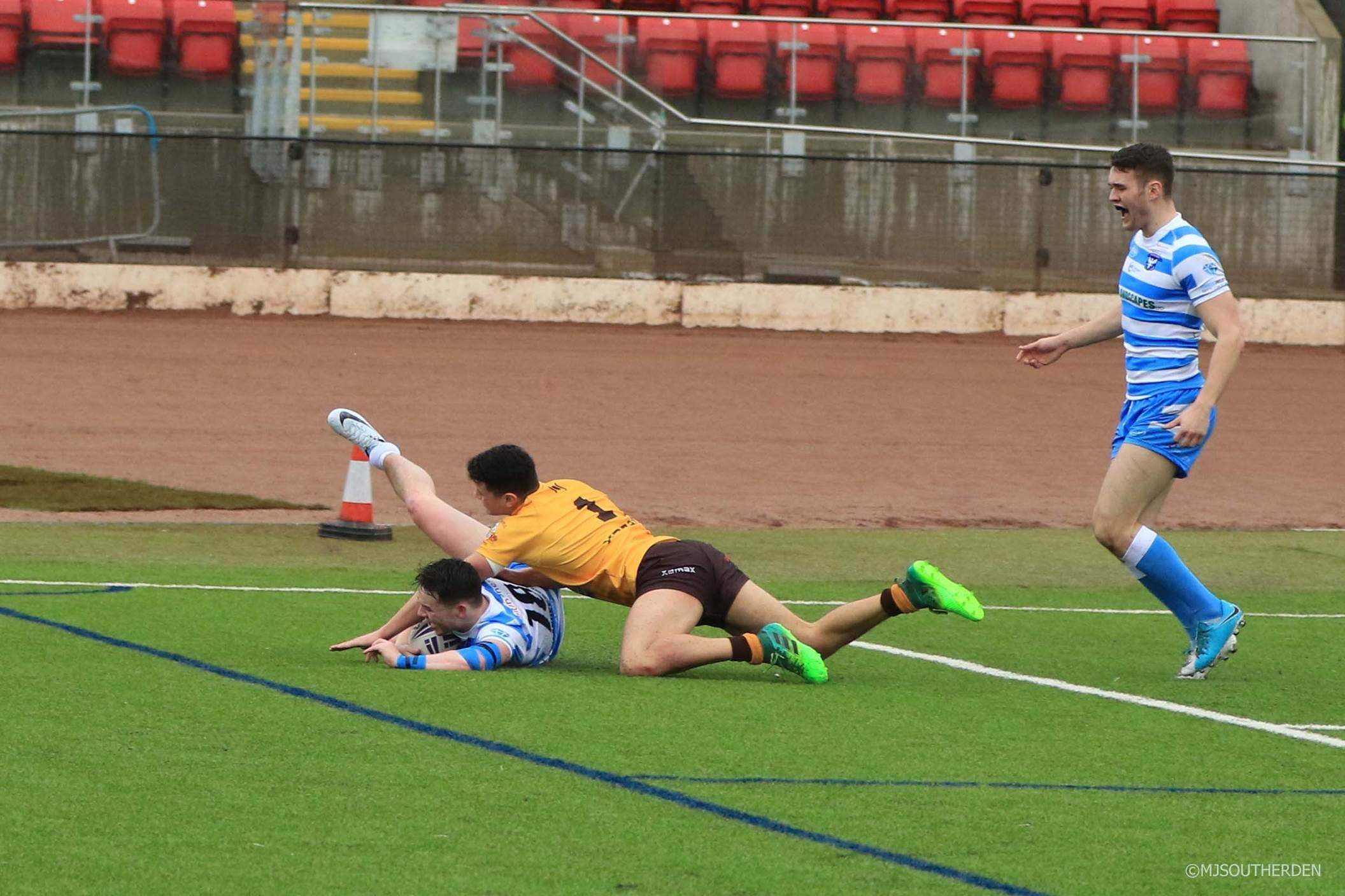 Action from Bury Broncos' game against Manchester Rnagers