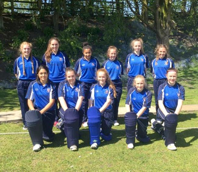 PIONEERS: Tottington St John's are the only women's cricket team in Bury to play in the regional league