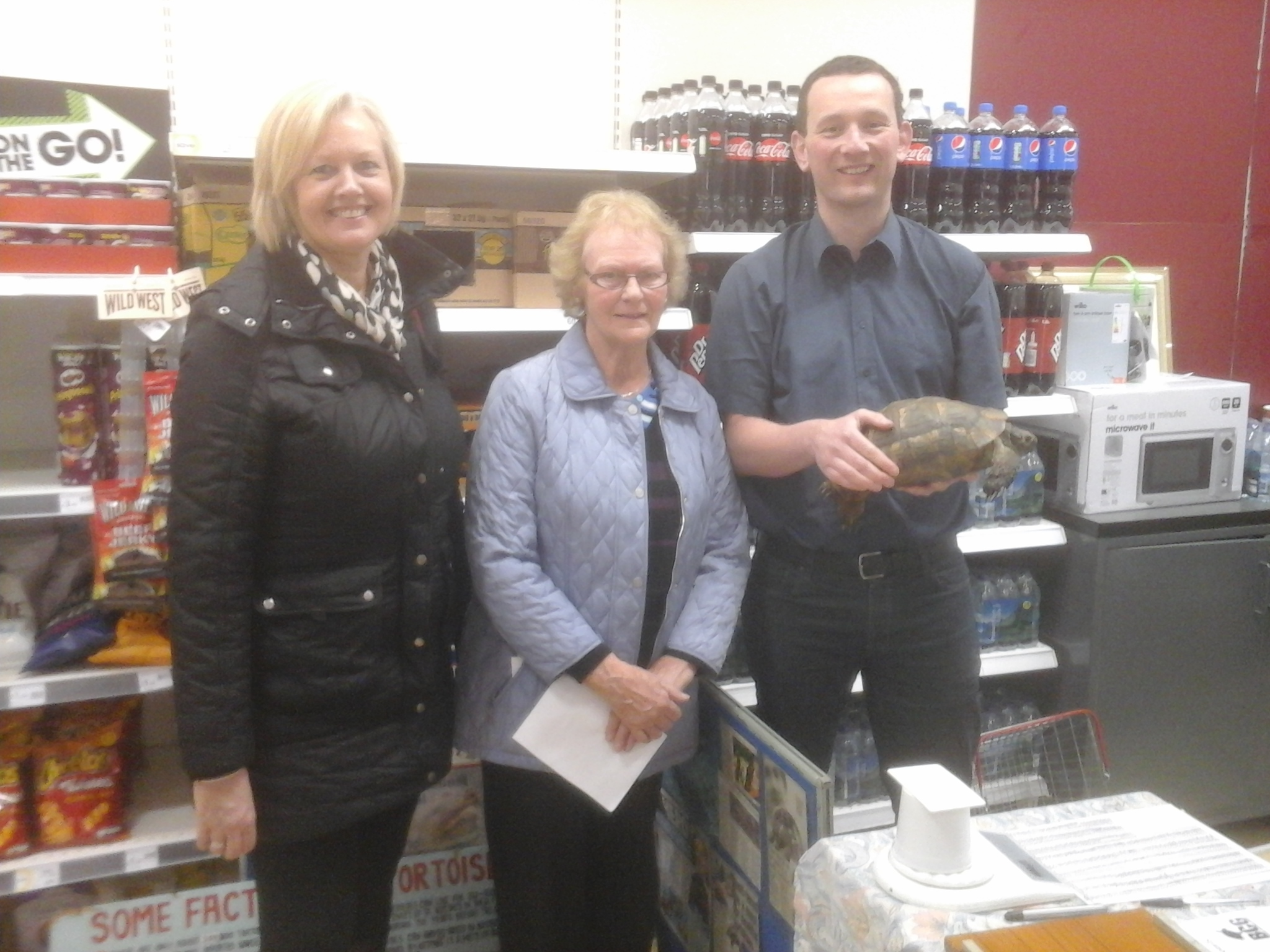 WEIGH-IN: A total of 36 animals turned out to the British Chelonia Group's spring event at Wilkinsons, The Rock, Bury