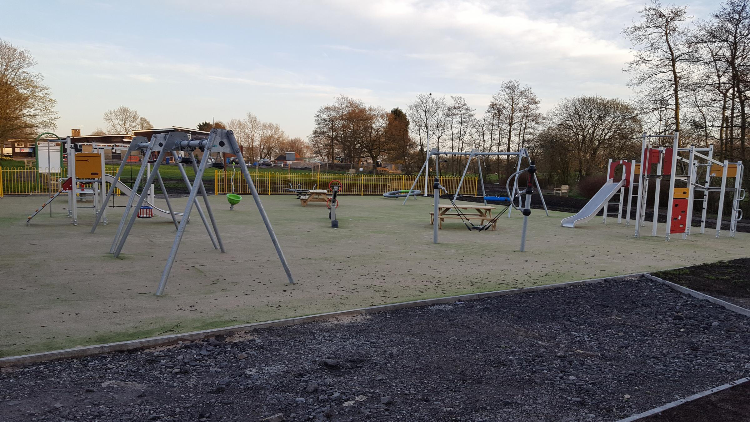 OPENING: The park in Brandlesholme Road, Greenmount, is nearing completion