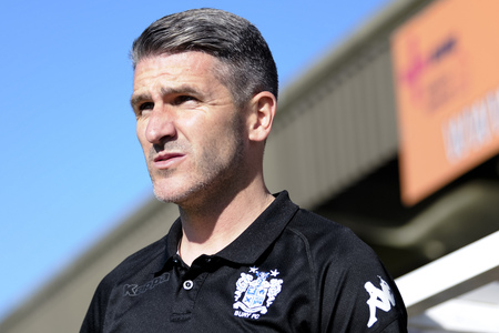 HOME DRAW: Ryan Lowe will have non-league Dover in his sights in the FA Cup first round at Gigg Lane