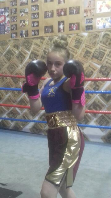 VICTORY: Bury ABC's Candice Woolstenholme