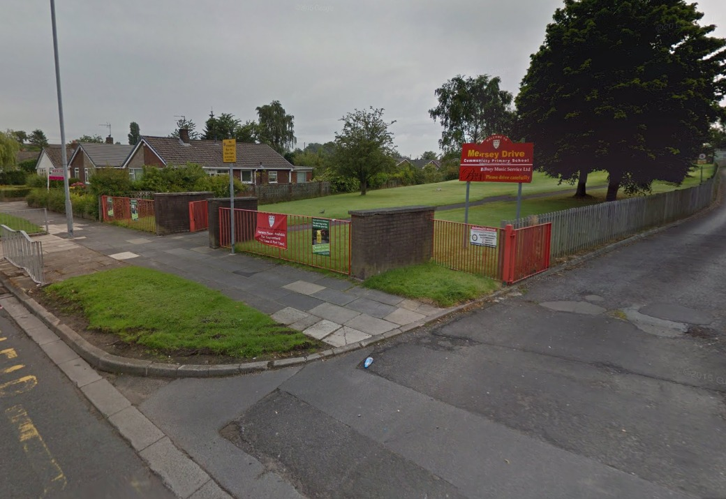 Mersey Drive Primary School in Whitefield