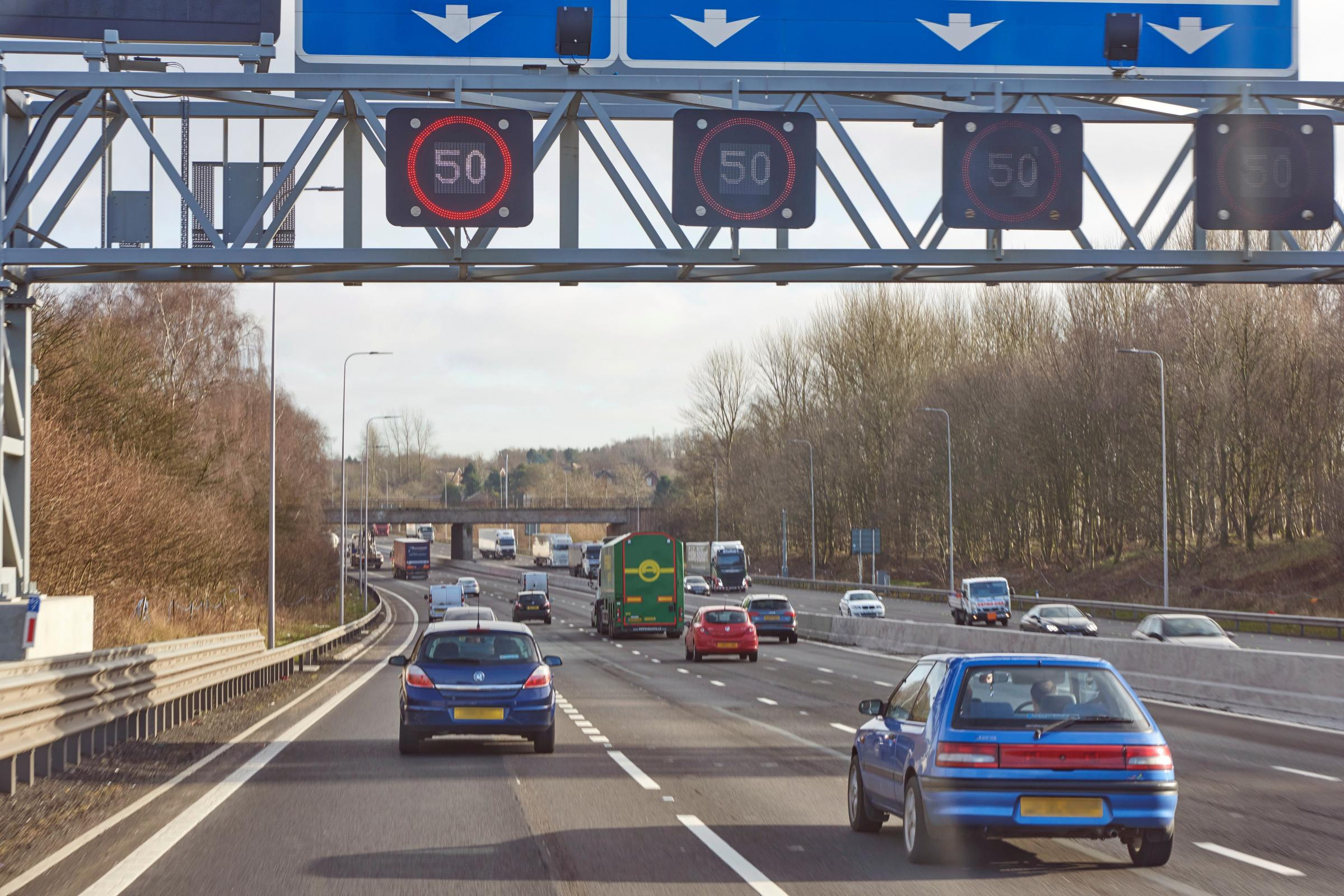 Temporary narrow lanes will be removed tomorrow on a 4-mile stretch of the M60 as Highways England works towards completing its smart motorway upgrade.