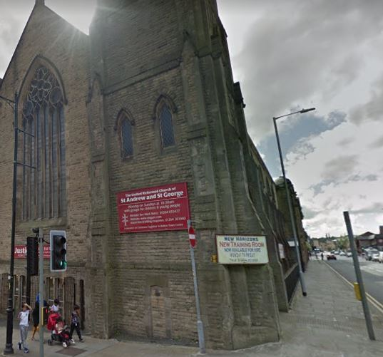 CONCERT: United Reformed Church of St Andrew and St George Bolton.Picture Google Maps