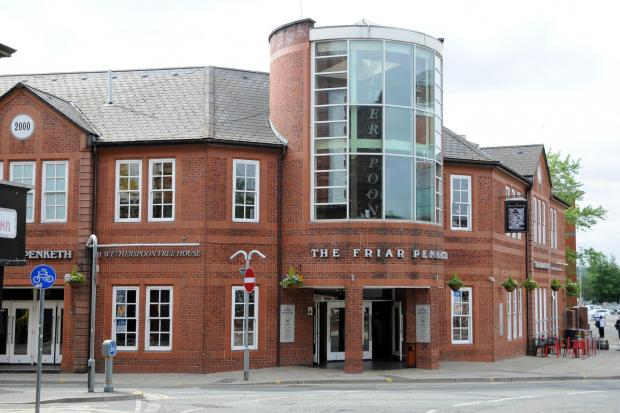 Bury Times: The Friar penketh exterior