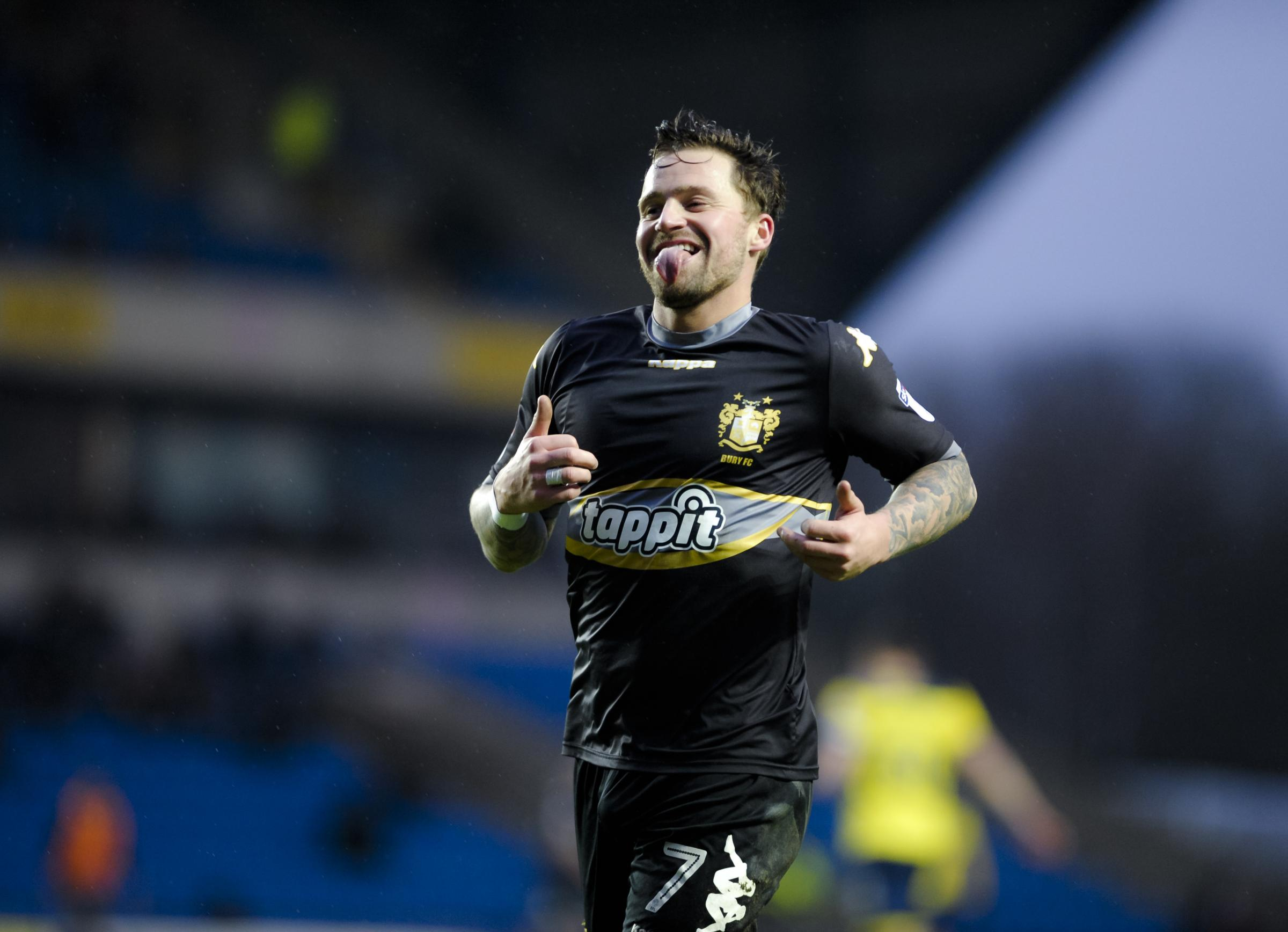 ON THE MOVE: Chris Maguire has left Bury for Sunderland