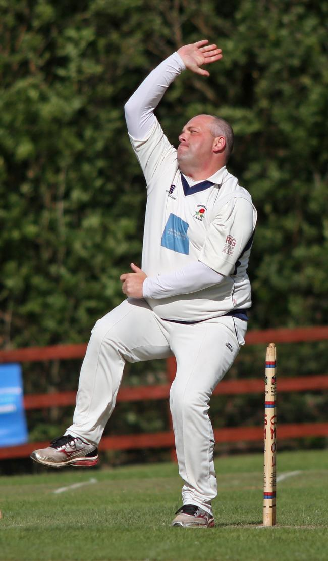 SIX HIT: Nick Kennedy produced an outstanding bowling performance for Woodbank