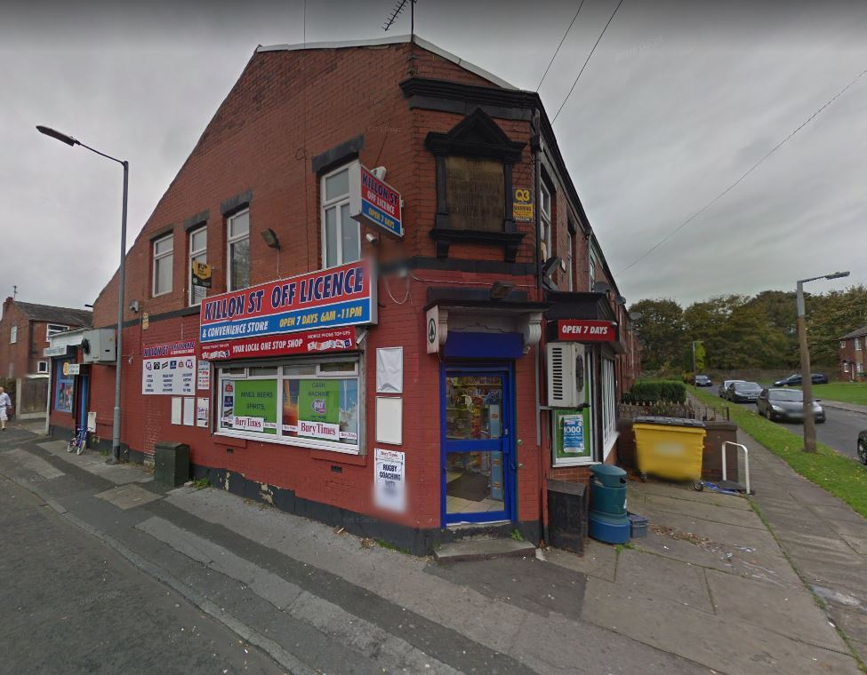 OBJECTION: Killon Street Off-Licence, in Price Street