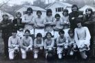 SOCCER: David Harrity and the 1974 junior section of the Walshaw Sports Club football team