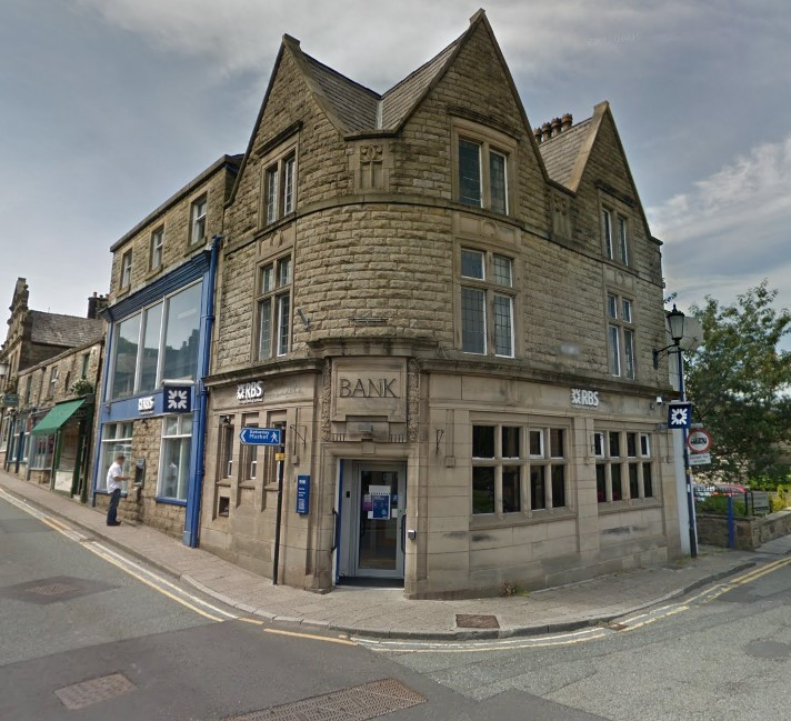 CLOSING: The Royal Bank of Scotland branch in Bridge Street, Ramsbottom