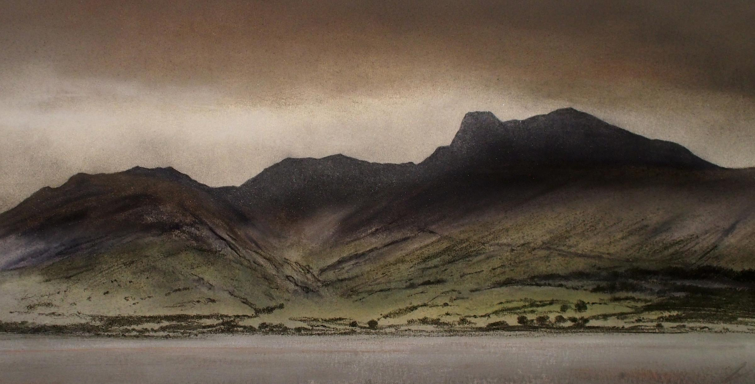 Glowing Silence - Scafell Pike by Daniel Cooper
