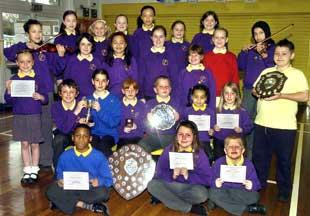 Trophy success for St John with St Mark