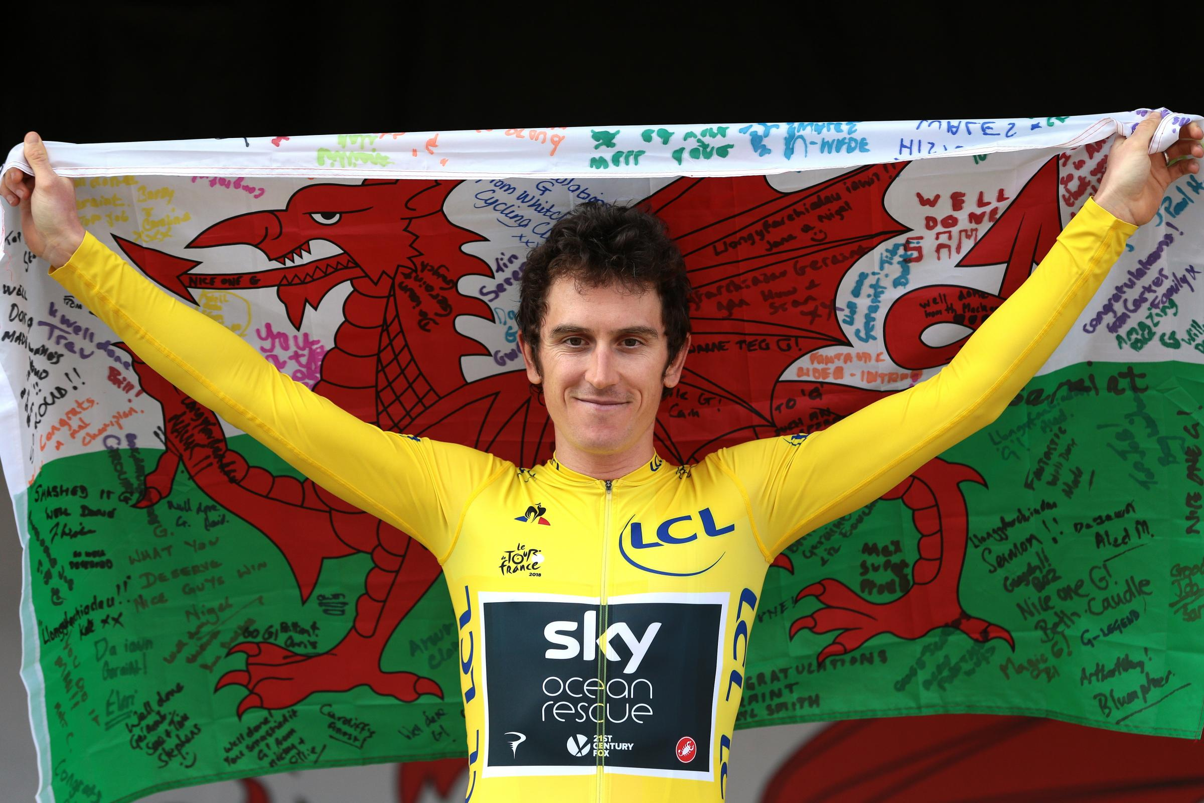 Geraint Thomas won the Tour De France in the summer