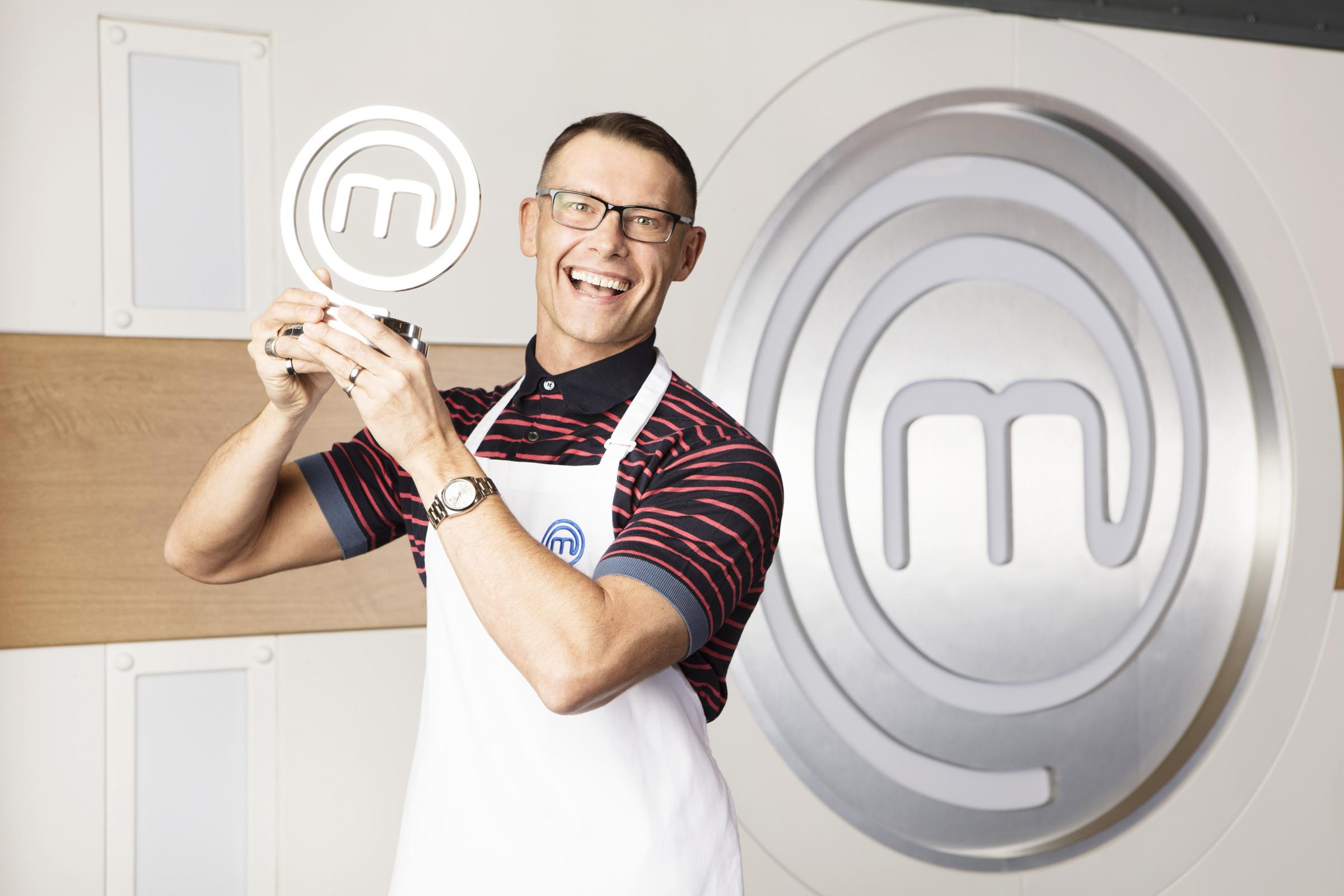 John Partridge has been crowned champion of Celebrity MasterChef. Picture: BBC/PA Wire