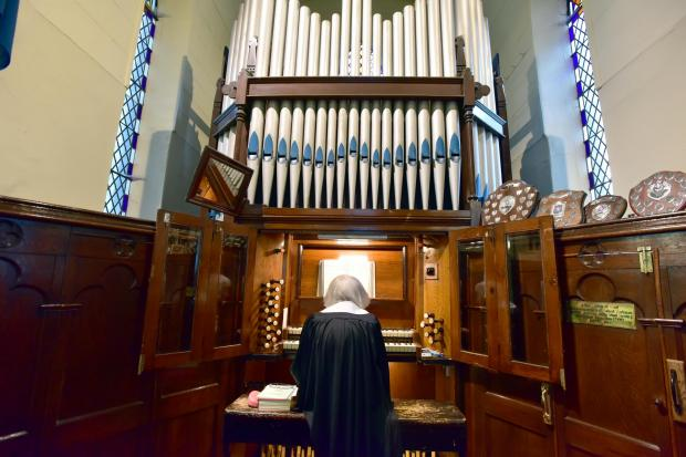 Dedicated organist at Christ Church Ainsworth retires after