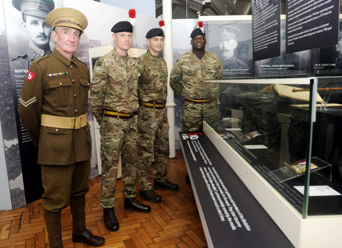 Making history — Victoria Cross medals united for WWI