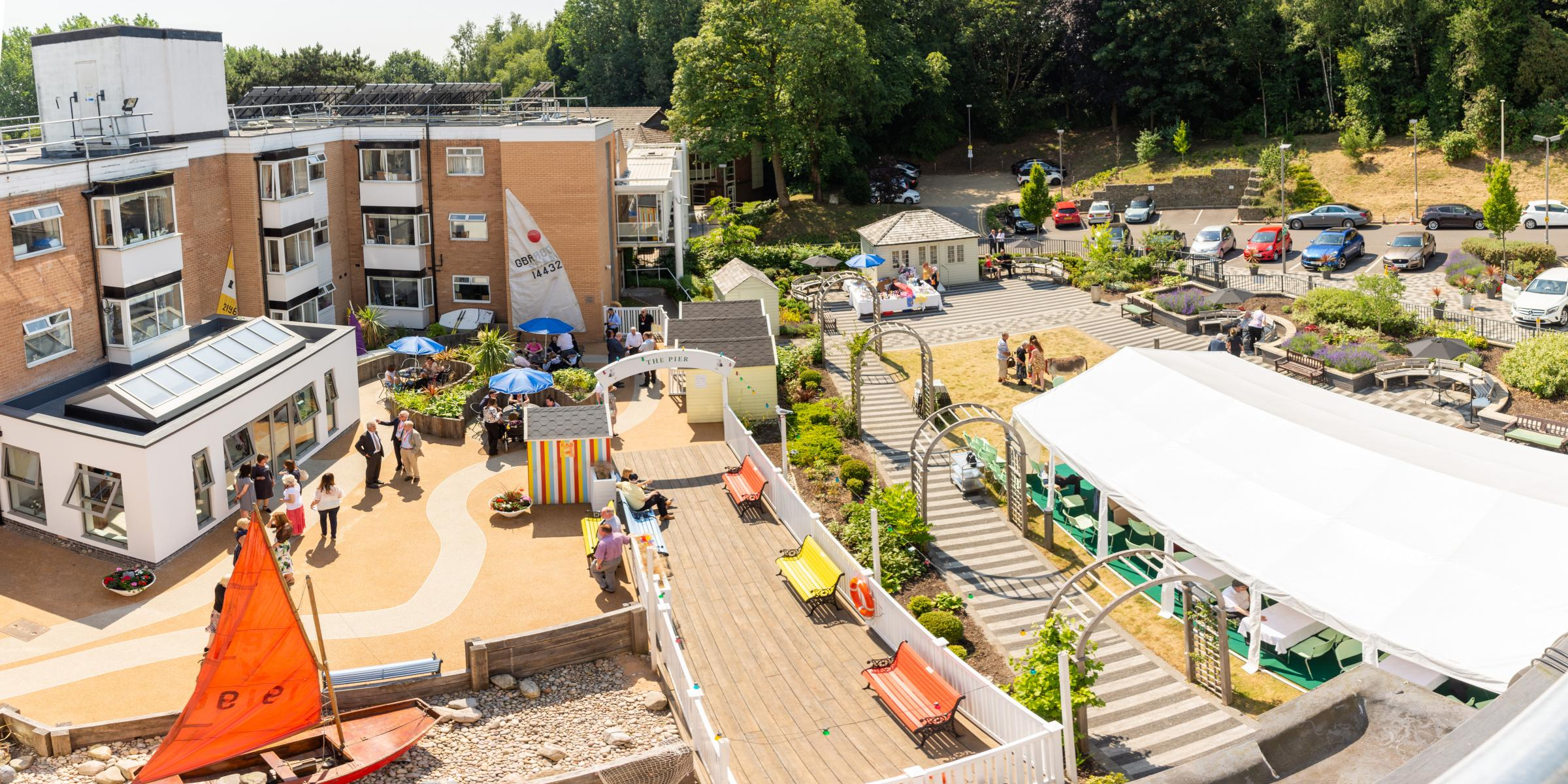 GARDEN: The Fed's seaside-themed dementia garden is up for a national award