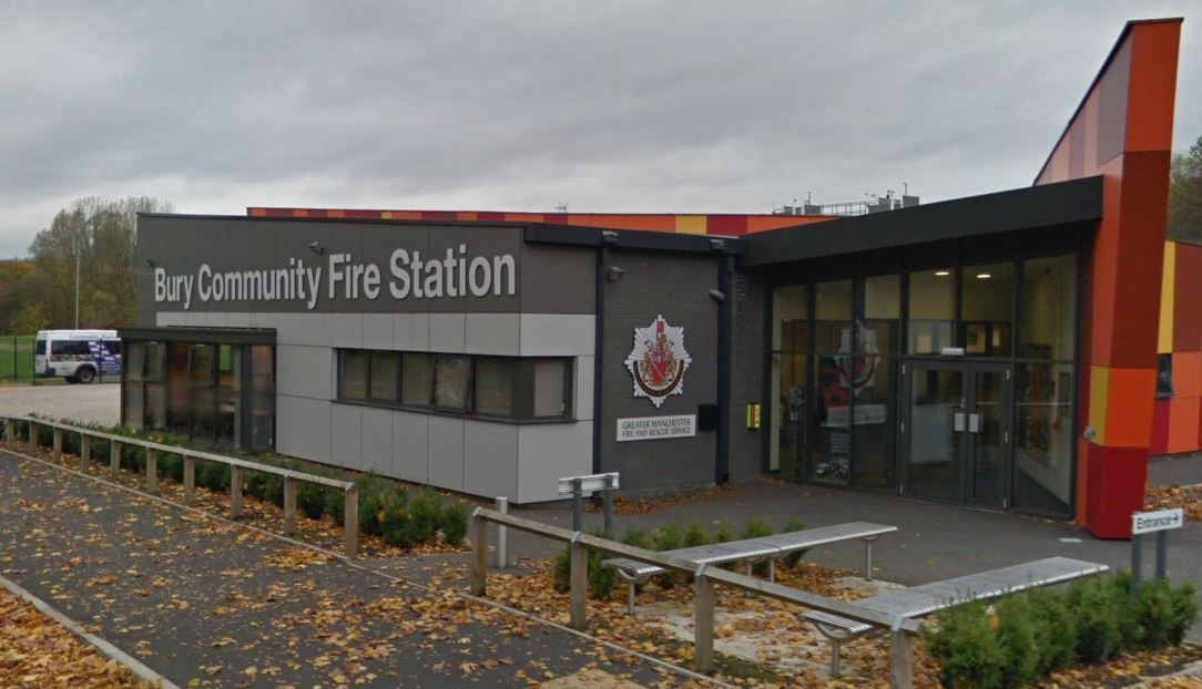Bury Community Fire Station in Magdalene Road