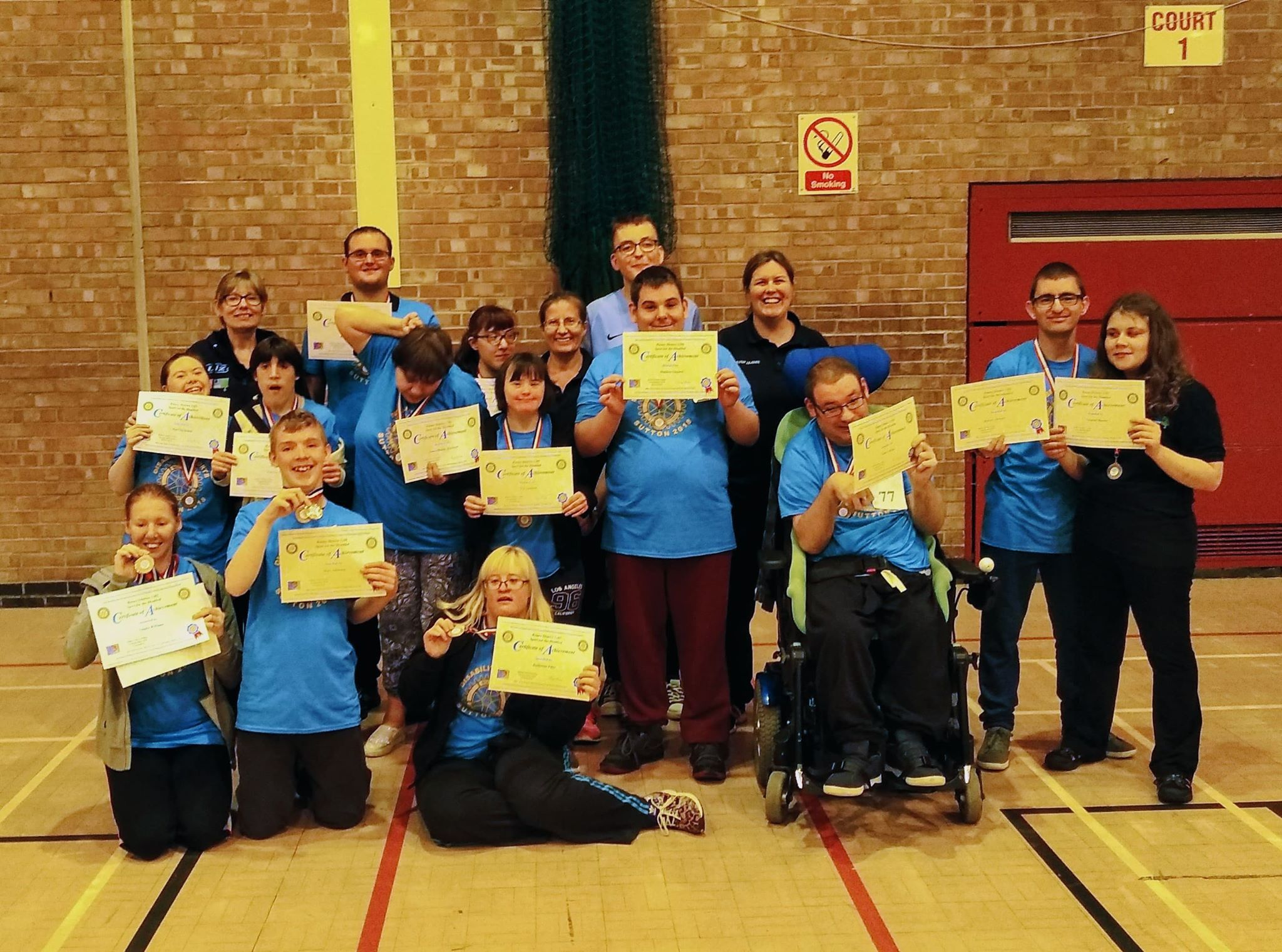 PLANS: Special Olympics Bury, in partnership with Jigsaw, hope to expand their sporting provision for disabled people