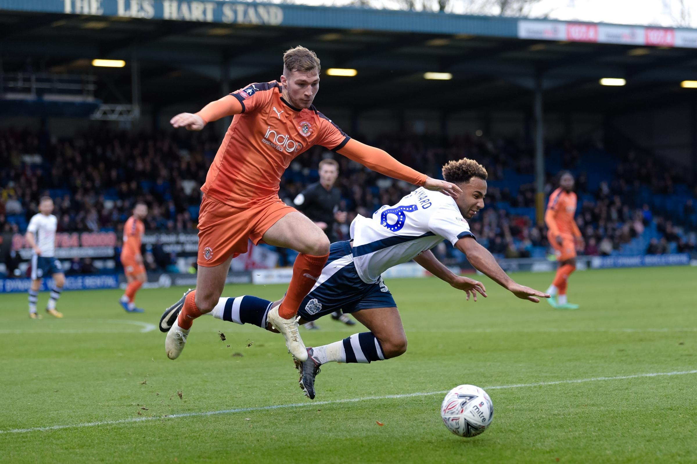 BURY 0 LUTON TOWN 1: Match report from Sunday's FA Cup second-round defeat