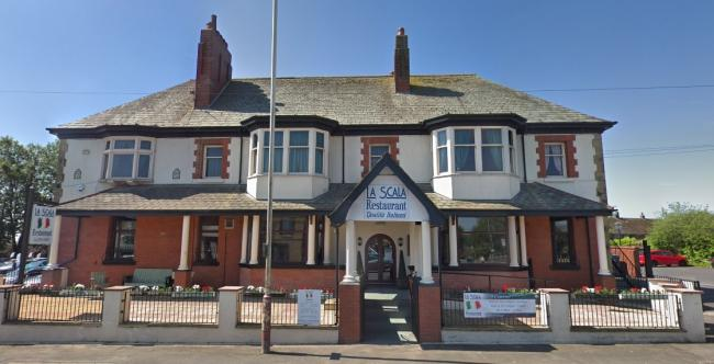 La Scala restaurant on Chorley Road, Westhoughton