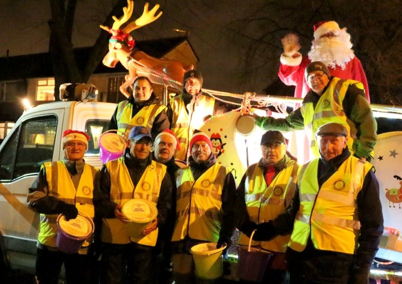 SLEIGH The Rotary Club of Radcliffe will be touring the town