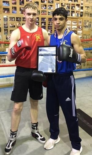 MIXED BAG: Bury ABC's Lewis Spanner, left, and Abdul Khan