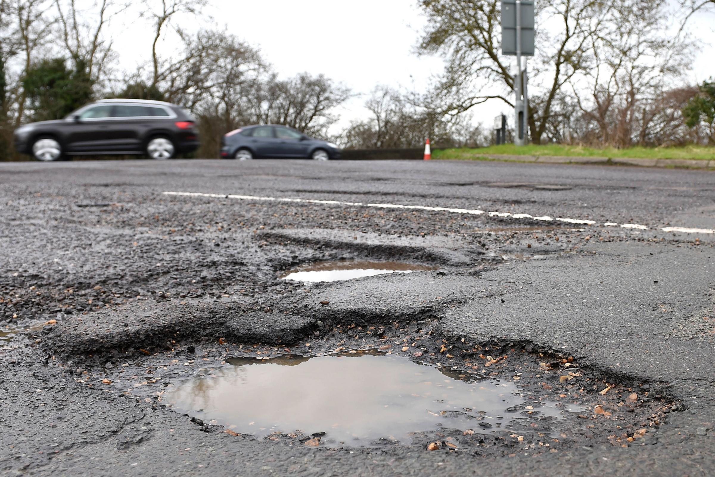 6c46f1c4d044 More than half a million potholes reported last year - Bury news ...