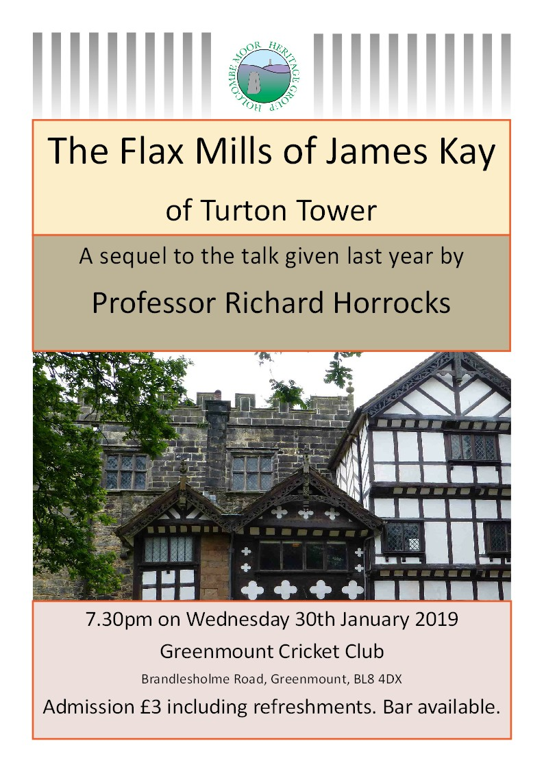 The Flax Mills of James Kay of Turton Tower