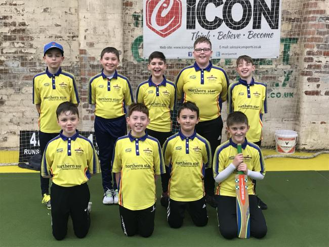 BIG BASH: The victorious Bury Cricket Development Group Under-11s, back, from left, Thomas Prescott, George Mills, Ben Pinkus, Thomas Orrell, Sam Staley; front, Edward Dickinson, Edward Lynch, Harvey Holt and George Harris