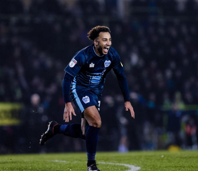 Nicky Maynard. Picture: Andy Whitehead