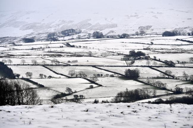Many parts of the UK are seeing snow today