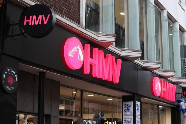 HMV announces dozens of store closures