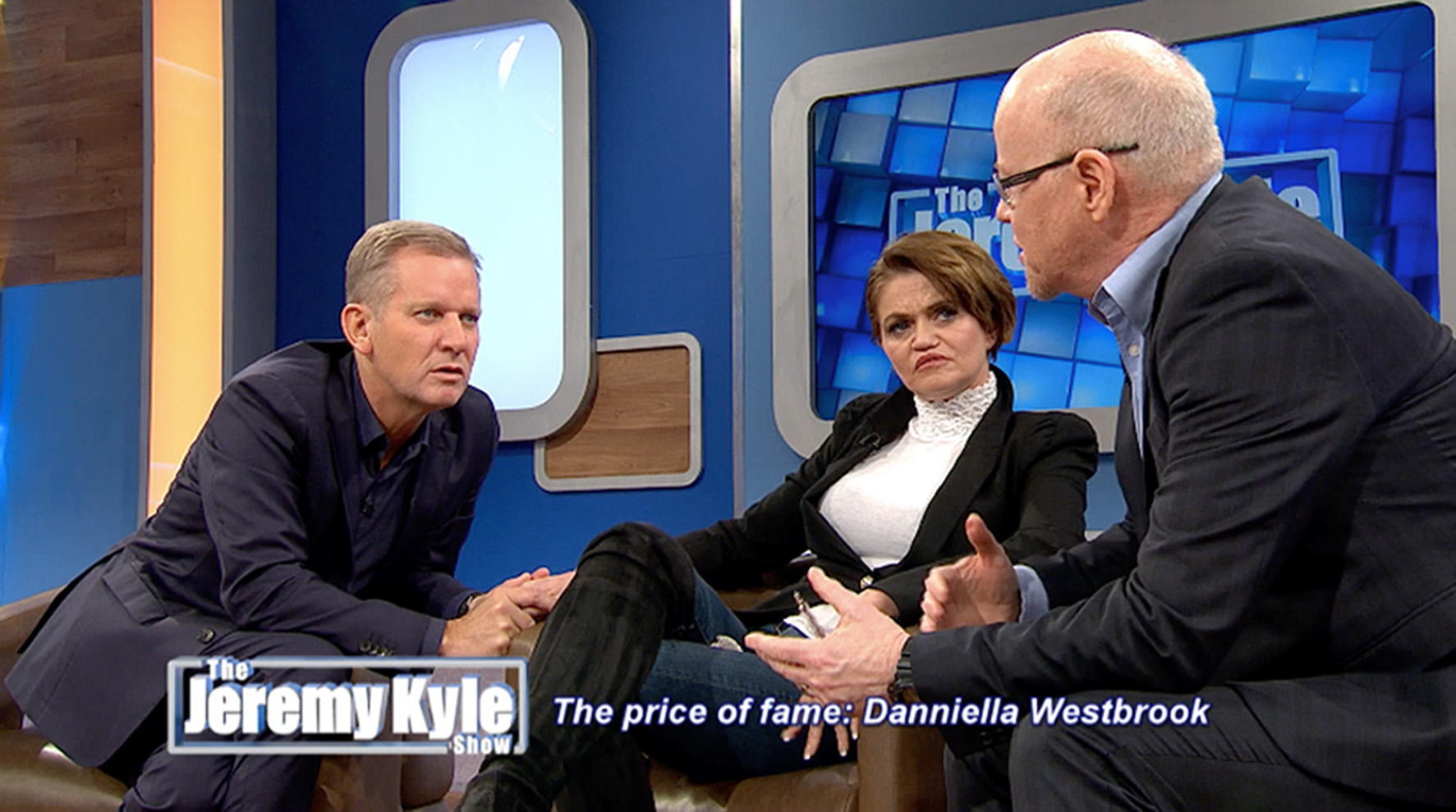 ITV handout screengrab of former EastEnders star Danniella Westbrook who admitted she was still taking cocaine every week during an appearance on The Jeremy Kyle Show. PRESS ASSOCIATION Photo. Issue date: Friday February 8, 2019. See PA story SHOWBIZ Wes