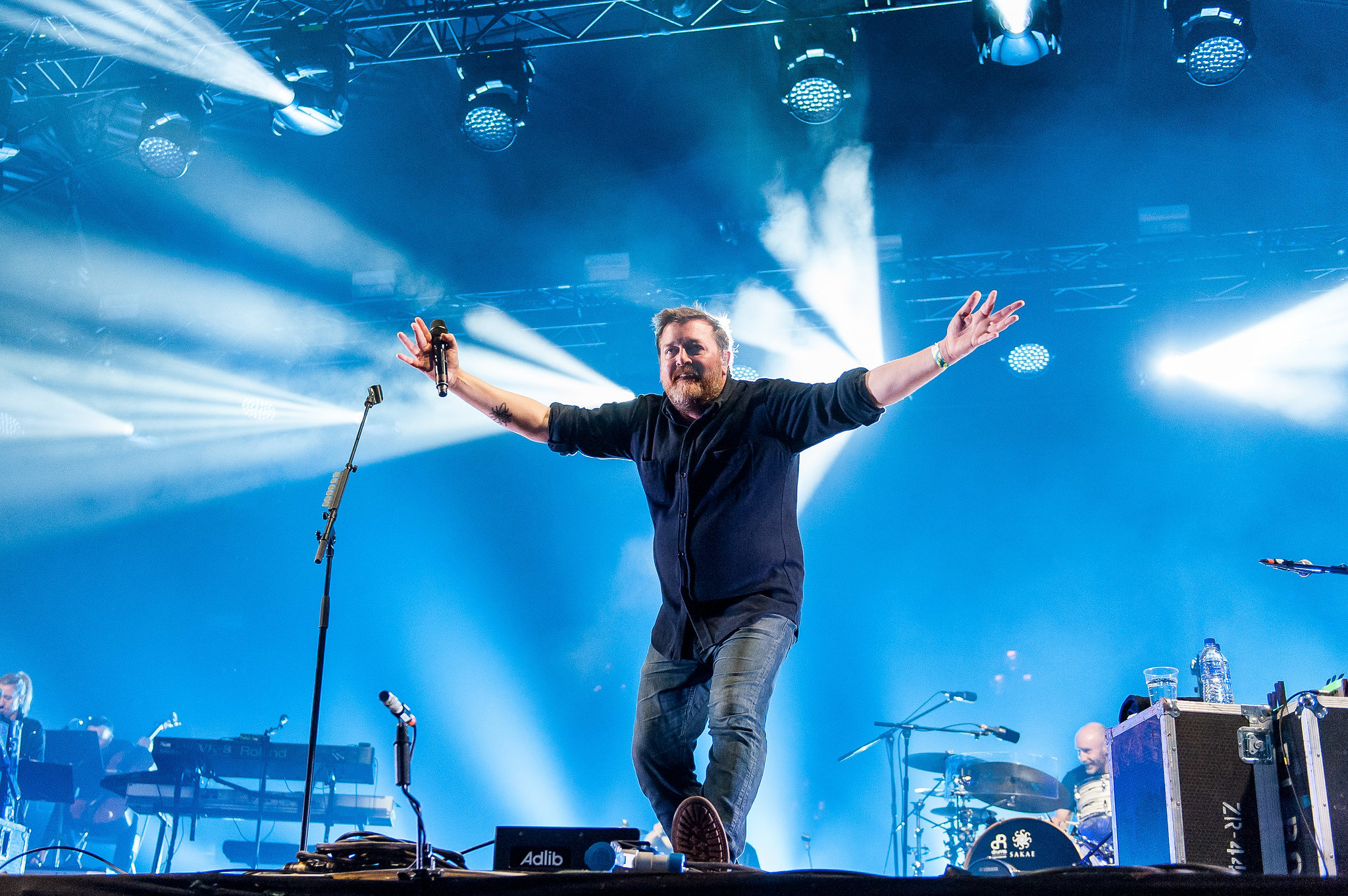 Elbow at Kendal Calling 2015. Photo: Tom Martin