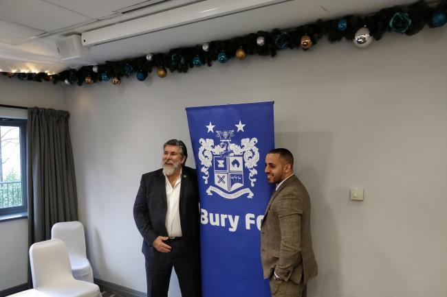 'We are moving forward': New Bury FC bosses pledge to rebuild trust on and off the pitch