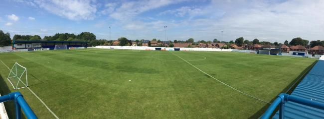 GROUND: Neuven Stadium could be set to witness a big finish in title race