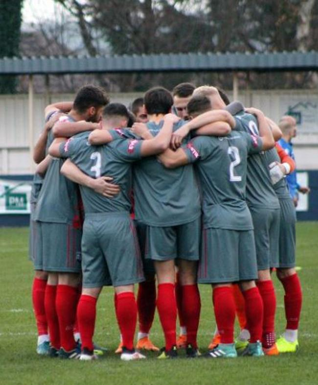 ALL TOGETHER NOW: Radcliffe's players are heading for a key period in the season