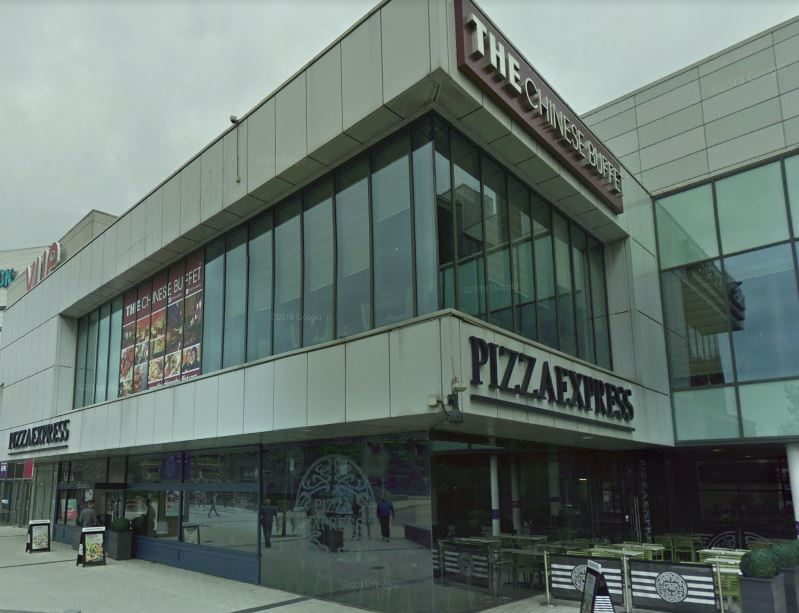 Pizza Express Branch Remains Closed After Fire At The Rock