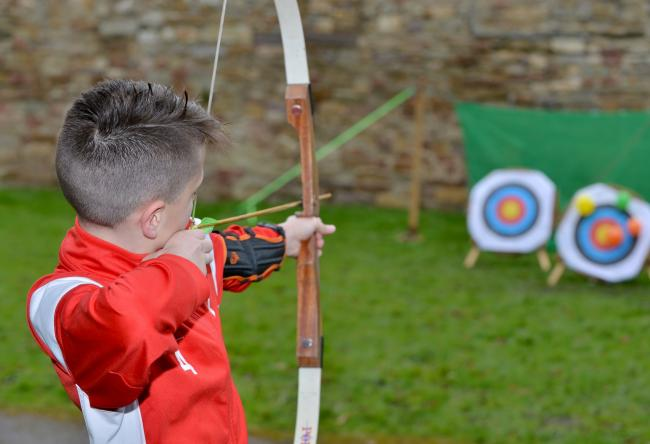 Try your hand at archery at the Radcliffe Have A Go event