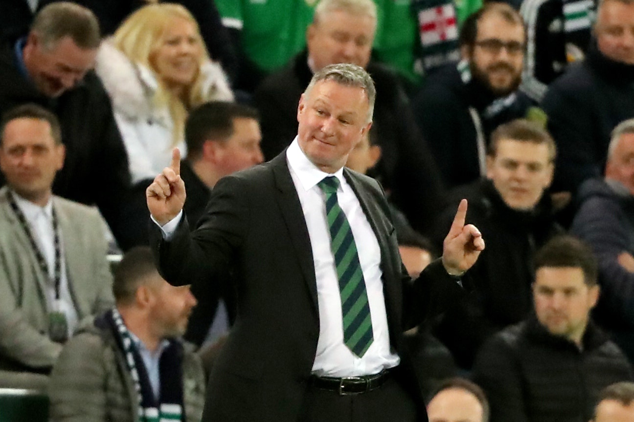 Michael O'Neill was able to enjoy victory over Estonia on Thursday night