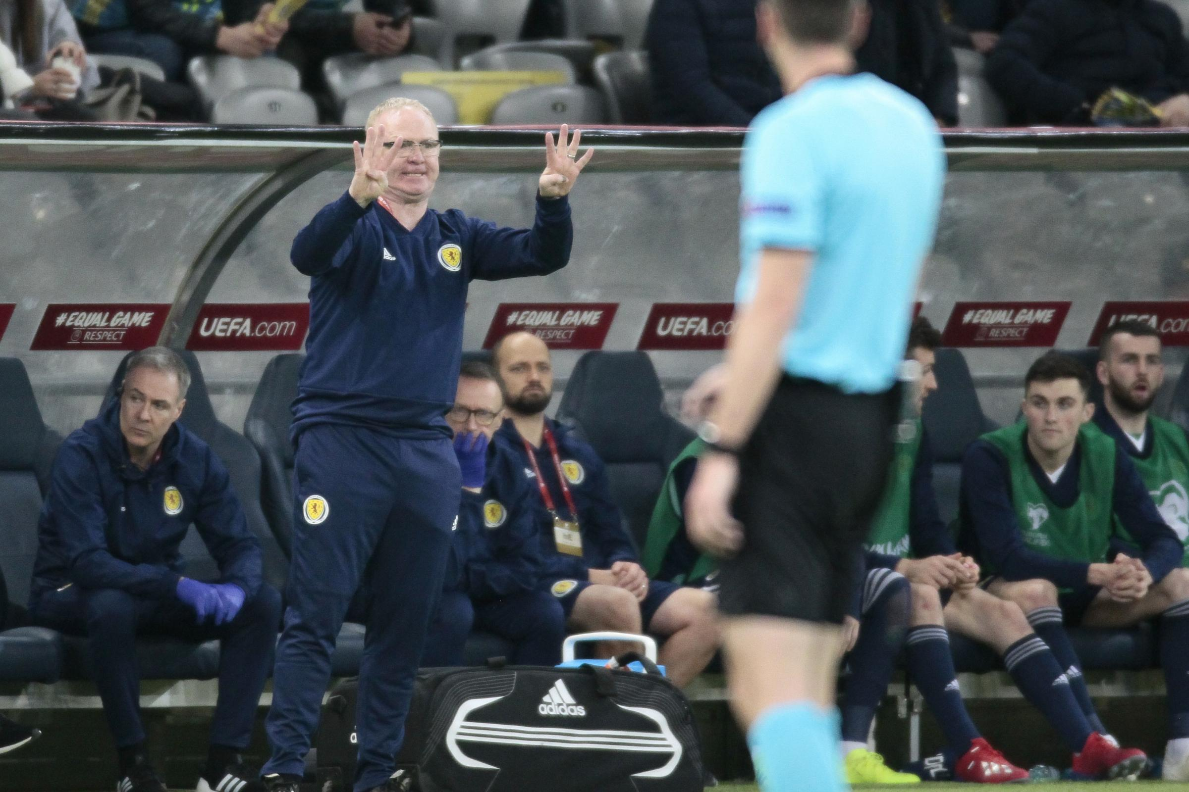 Alex McLeish's Scotland suffered a humiliating 3-0 defeat in Kazakhstan