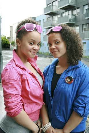 TV TEST: Hope and Millie Katana will feature in a CBBC show Clash on Tuesday at 4.35pm