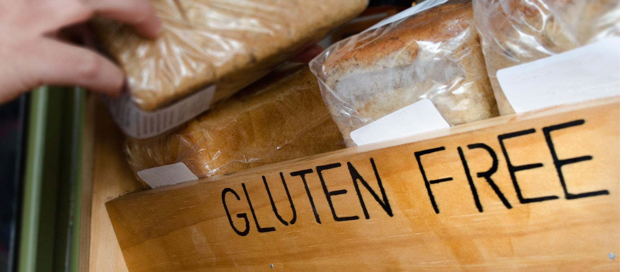 Gluten free food is now available in most supermarkets