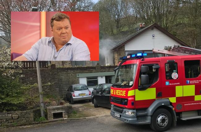 REGIONAL: Comedian Ted Robbins' home 'gutted by tumble dryer fire'